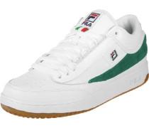 T1 Mid Schuhe weiß grün