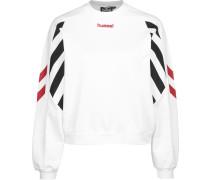 Hummel Hvidbjerg Damen Sweater weiß