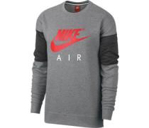 Air Crew Sweater grau meiert