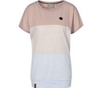 Mein Rücken Schmücken Iv W T-Shirt dusty pink melange