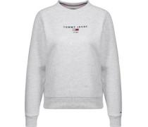 Clean Logo W Sweater grau meliert