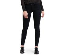 710 Innovation Super Skinny Jeans Damen black galaxy