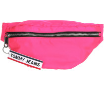 Logo Tape Damen Umhängetasche pink neon