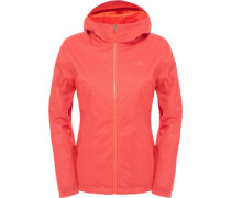 Quest Insuated W Winterjacke rot orange