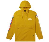 Neo Leopard Herren Windbreaker gelb