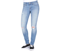 711 Skinny Jeans Damen goodbye heart