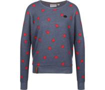 A Gift Can be Curse W Sweater Damen blau meliert EU