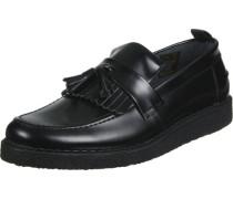 Fs x Gc Tassel Loafer Leather Schuhe schwarz