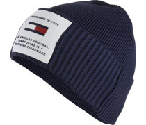 Established Beanie blau