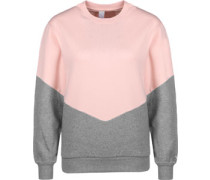 Luv W Sweater Damen grau pink EU