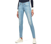 Lynn Mid Skinny Jeans Damen lt aged