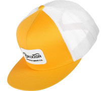 Grade Trucker Cap gelb weiß