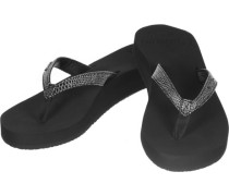 Star Cushion Sassy W Sandalen Damen schwarz EU