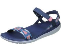 Terra-Float Nova Damen Sandalen blau weiß