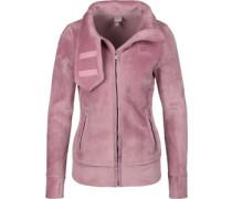 Her. Funnel W Fleecejacke pink