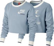 Crew W Sweater blau