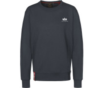 Basic Sall Logo Herren Sweater blau