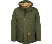 Mentley Herren Winterjacke oliv