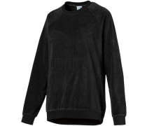 Downtown Structured Damen Sweater schwarz