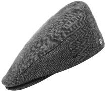 Hooligan Cap grau schwarz