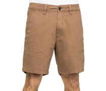 Flex Grip Chino Herren Shorts braun