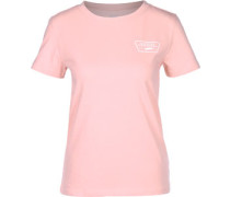Full Patch Crew W T-Shirt pink