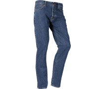 Klondike Jeans Herren blue dark stone washed