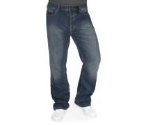 Pensacola Straight Herren Jeans blau