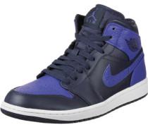 1 Mid Schuhe blau