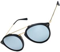 Fitzroy Sonnenbrille matt black blue mirrored