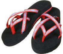 Olowahu W Zehentrenner schwarz rot blau