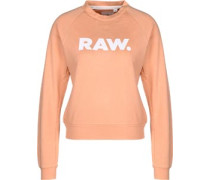 Xula straight art r sw W Sweater Damen orange