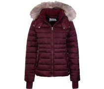 Mid Weight Nylon Daunenjacke Damen weinrot