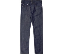 Ed-80 Slim Tapered Kingston Jeans Herren blau