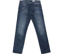 3301 Straight Jeans Herren dk aged restored