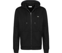 Hooded Zipper chwarz