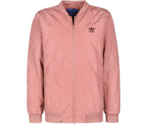 Quilted Bomberjacke pink