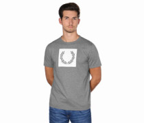 Printed Laurel Wreath T-Shirt grau eliert