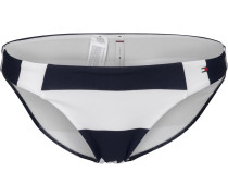 Club Stripes Classic Bikini Unterteil Damen blau weiß gestreift