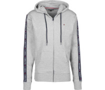 Hwk Hooded Zipper grau meiert