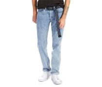 L8 Slim Straight Jeans Herren reflections EU