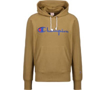 Logo Hoodie braun
