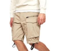 Rovic zip loose 1/2 Shorts Herren braun