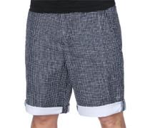 Printed Shorts Herren blau EU