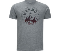 Perimeter T-Shirt grau meiert