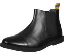 Marine Schuhe black leather