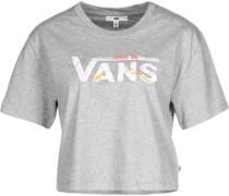 Cali Floral Box T-Shirt Daen grau eliert