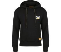 Cat Sal Logo Herren Hoodie schwarz