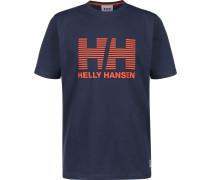 Crew Herren T-Shirt blau