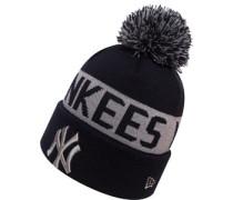 Team Tonal Knit Ny Yankees Beanie grau